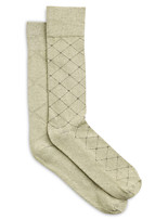 Harbor Bay® Continuous Comfort™ 2-pk Argyle/Fancy Socks