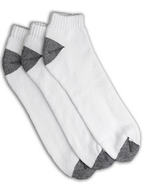 Harbor Bay® 3-pk Continuous Comfort® Low Cut Socks