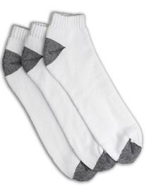Harbor Bay® 3-pk Continuous Comfort® Low Cut Socks