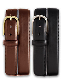 Harbor Bay® 2-for-1 Leather Dress Belts