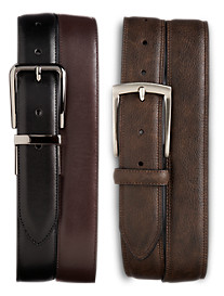 Harbor Bay® 2-For-1 Leather Belts