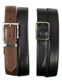 Harbor Bay® 2-for-1 Reversible Leather Belts