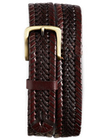 Harbor Bay® Stretch Braided Leather Belt