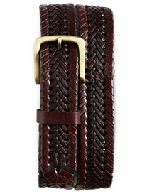 Harbor Bay® Stretch Braided Leather Belt