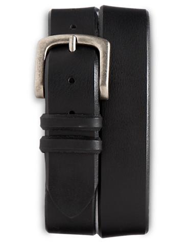 Harbor Bay® Jeans Leather Belt - ( Belts & Suspenders )