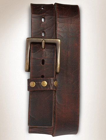 True Nation® Vintage Leather Belt | Available in brown