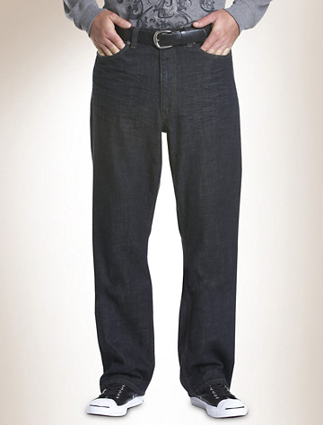 True Nation® Relaxed-Fit Jeans | Available in midnight