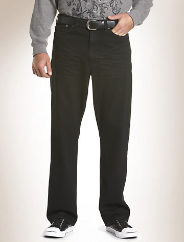 True Nation® Relaxed-Fit Jeans | Available in black