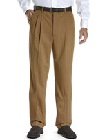 Gold Series™ Continuous Comfort™ Pleated Sateen Dress Pants