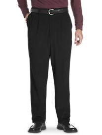 Oak Hill® Waist-Relaxer® Pleated Corduroy Pants