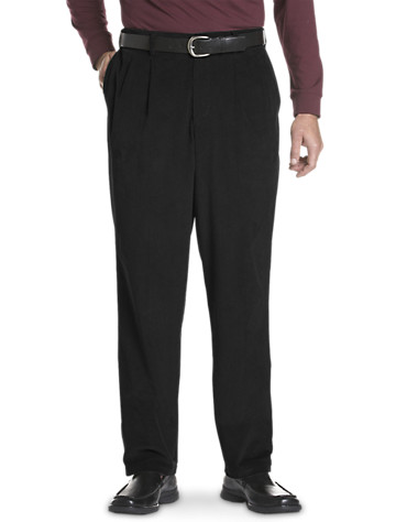 Oak Hill® Waist-Relaxer® Pleated Corduroy Pants - $59.5