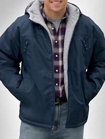 Harbor Bay® Hooded Fleece-Lined Jacket