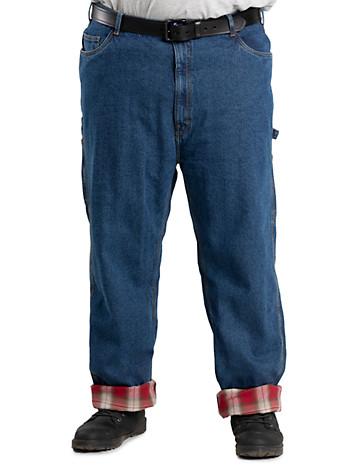 Berne® Original Flannel-Lined Dungarees