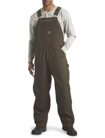 Berne® Traditional Washed Insulated Duck Bib Overalls
