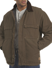 Berne® Original Washed Quilt-Lined Duck Chore Coat