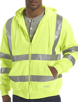 Berne® Hi-Visibility Thermal-Lined Hooded Sweatshirt