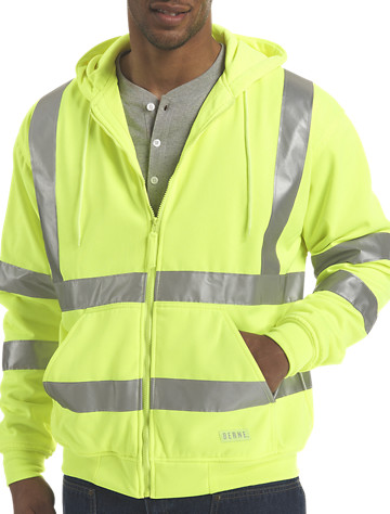 Berne® Hi-Visibility Thermal-Lined Hooded Sweatshirt - $64.99