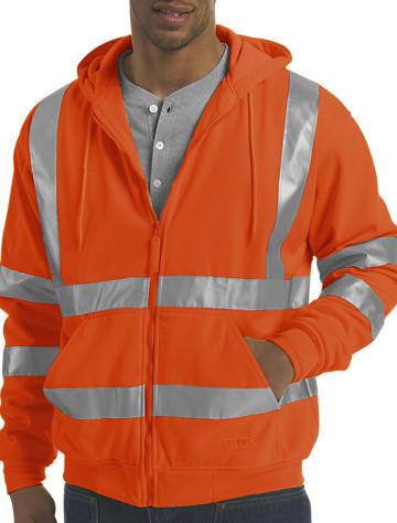 Orange Outerwear