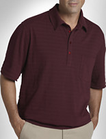 Harbor Bay® Jacquard Banded-Bottom Shirt