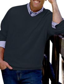 Oak Hill® V-Neck Sweater