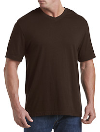 Harbor Bay® Wicking Jersey V-Neck Tee