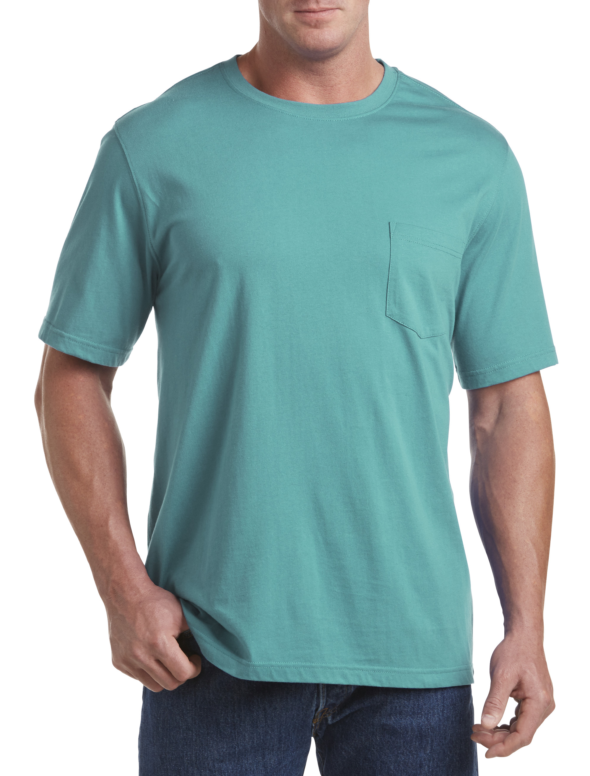 Harbor Bay� Wicking Jersey Pocket Tee (more sale colors)