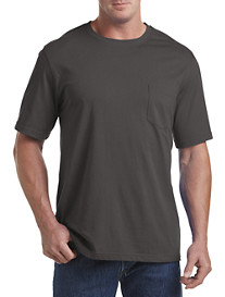 Harbor Bay® Wicking Jersey Pocket Tee (more sale colors)