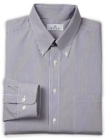 Enro® Non-Iron Bengal Stripe Pinpoint Oxford Dress Shirt