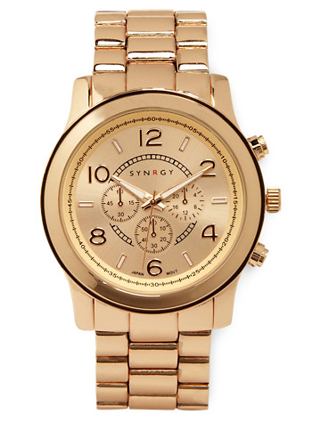 Synrgy™ Rose Gold-Tone Watch