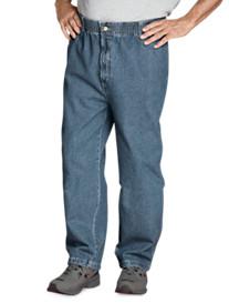 Canyon Ridge® Elastic-Waist Jeans