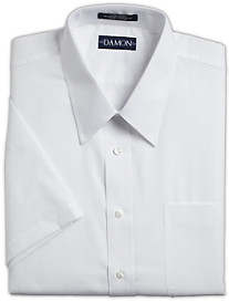Damon Ultra Poplin Short-Sleeve Dress Shirt