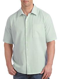 Harbor Bay® Seersucker Stripe Sport Shirt