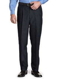 Oak Hill® Waist-Relaxer® Pleated Linen Suit Pants
