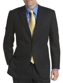 Silver Edition™ Black Tonal Stripe Suit Jacket