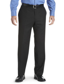 Silver Edition™ Black Tonal Stripe Suit Pants