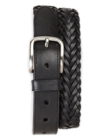 Harbor Bay® Braided Leather Belt