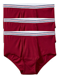 Harbor Bay® 3-pk Color Briefs
