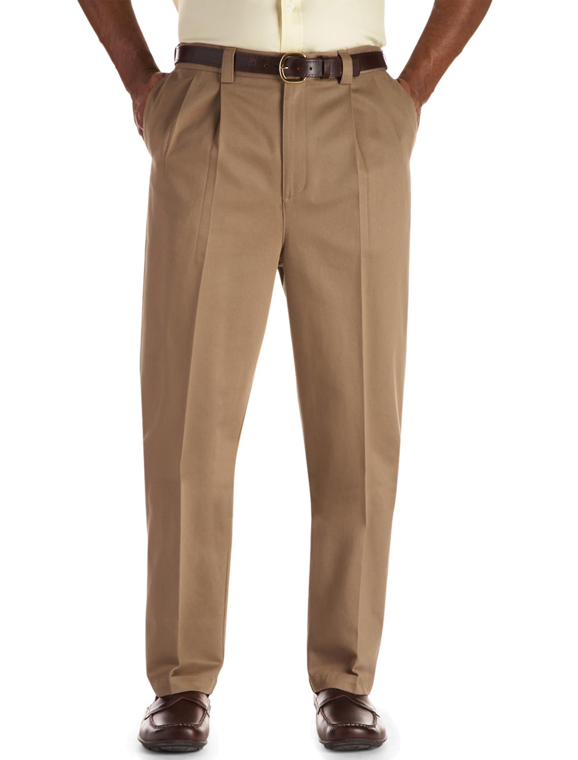 Oak Hill Waist-Relaxer Pleated Premium Pants Casual Male XL
