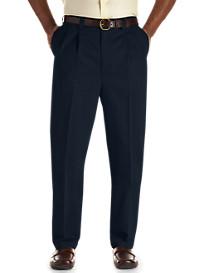 Oak Hill® Waist-Relaxer® Pleated Premium Pants