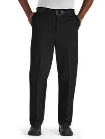 Oak Hill® Waist-Relaxer® Flat-Front Premium Pants
