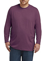 Harbor Bay® Long-Sleeve No Pocket Wicking Crew