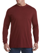 Harbor Bay® Long-Sleeve Wicking Mockneck
