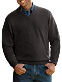 Harbor Bay® Soft-Touch Wide-Rib Sweater