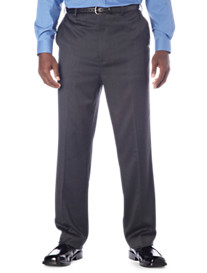 Gold Series Continuous Comfort® Flat-Front Sateen Pants – Hemmed