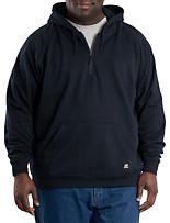 Berne® Quarter-Zip Hooded Sweatshirt