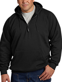 Berne® Quarter-Zip Hooded Sweatshirt