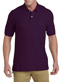 Harbor Bay® Pocket Piqué Polo