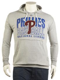 MLB Fashion Raw-Edge Hoodie
