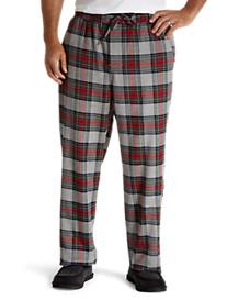 Harbor Bay® Plaid Flannel Lounge Pants