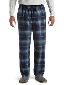 Harbor Bay® Plaid Microfleece Lounge Pants